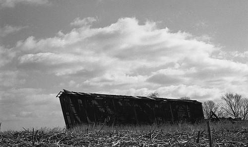 blackandwhite film monochrome rural newjersey ruraldecay silouettes hunterdoncounty corncrib blackandwhitefilm hunterdon oldandbeautiful