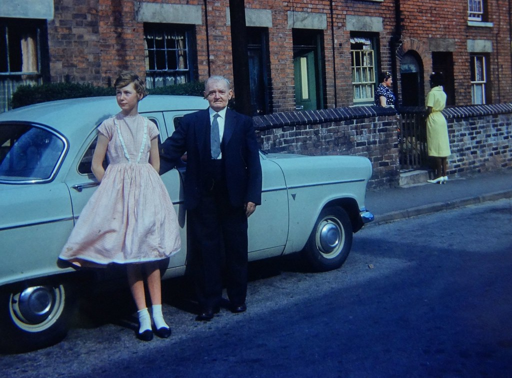 Westwood, Notts ... a visit to Grandad's mid 60s.