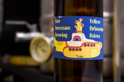Greg Nagel's Yellow Submarine Saison | by fourbrewers
