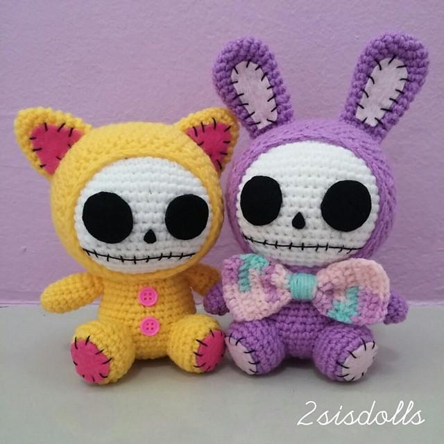 Stuffed Animals & Cuddly Toys Amigurumi Crochet Jack Skellington ... | 640x640