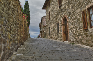 Road in Montalcino, Italy | by andrew_maier
