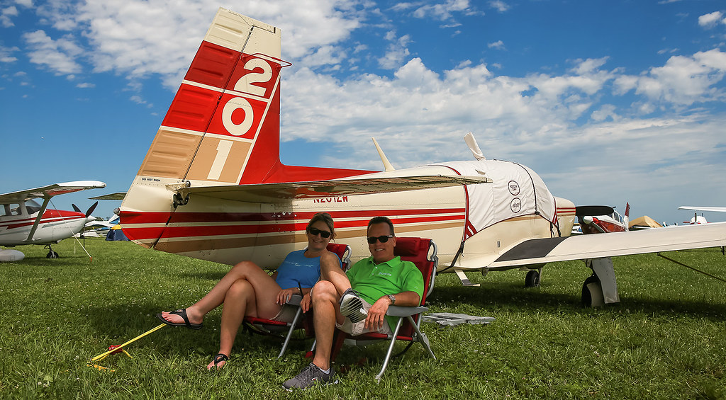 Around the North 40 | Photo by Melody Wollangk | EAA AirVenture