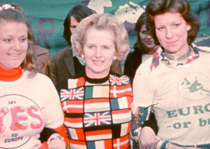 Margaret Thatcher as Leader of the Opposition, 1975