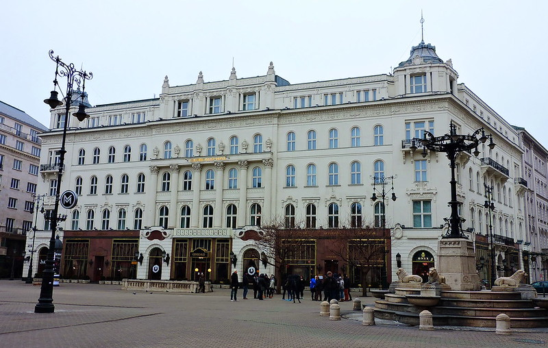 Café Gerbeaud, Vörösmarty tér, Budapest