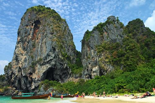 Thaïlande - Krabi - Railay Beach   by Nicolas Vollmer