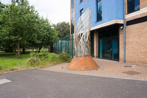Sculpture at City East Business Centre 68 - 72 Newtownards Road | by infomatique