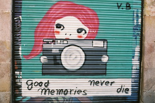 Graffiti in Barri Gotic   by Aoife B