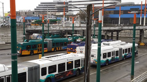 Sound Transit and KCM Buses