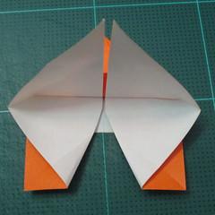 วิธีพับกระดาษเป็นที่คั่นหนังสือรูปผีเสื้อ (Origami Butterfly Bookmark) 025