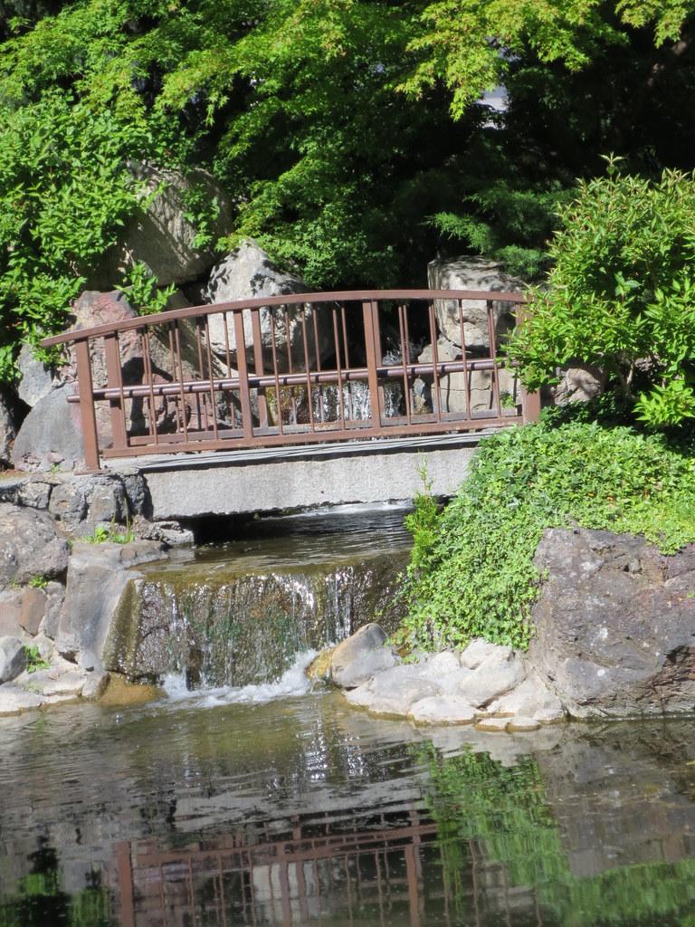 At The Kasugai Japanese Gardens In Kelowna