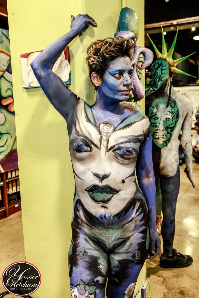 New York Body Painting Day, 2017   This year New York