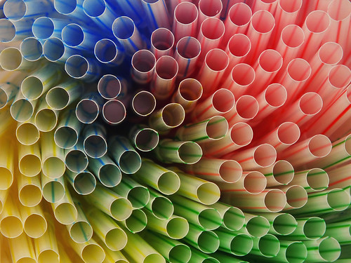 one, two, many straws