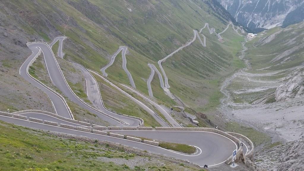 """Résultat de recherche d'images pour """"The Stelvio Pass in Italy"""""""