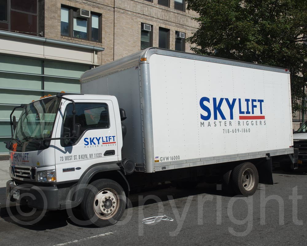 Skylift Truck, New York-Presbyterian Columbia University M… | Flickr