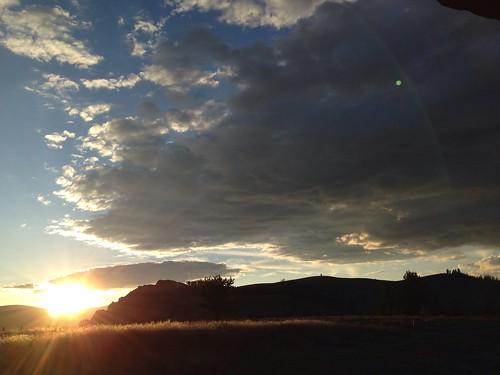 blue sunset sky apple nature clouds scenery peaceful powershot idaho cellphonephoto cellphoneshots iphone5 waltphotos lordwalt