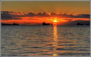 English Bay Sunset | by tdlucas5000