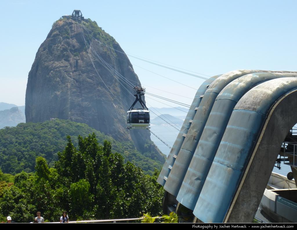 Cable Car, Pão de Açúcar, Rio de Janeiro, Brazil
