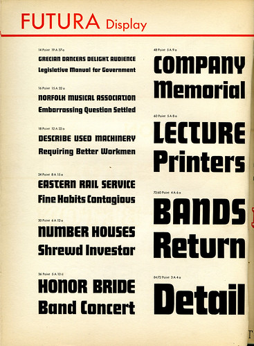 Futura Display Type Specimen | by Dunwich Type