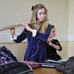 11. Flute practice