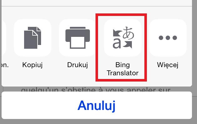 Bing Translator Safari iPhone | Po dodaniu tłumacza Bing Tra… | Flickr