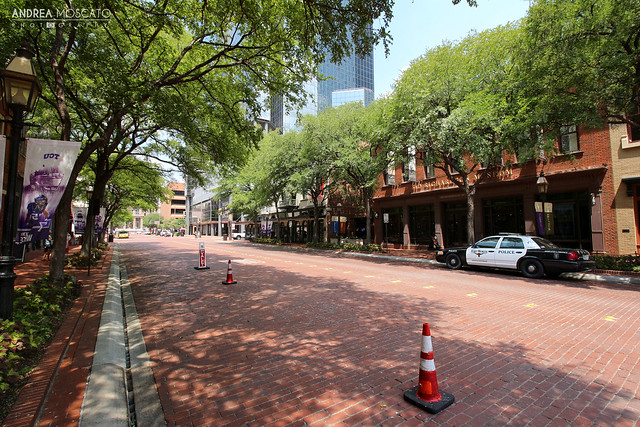 Main Street, Downtown Fort Worth - Texas