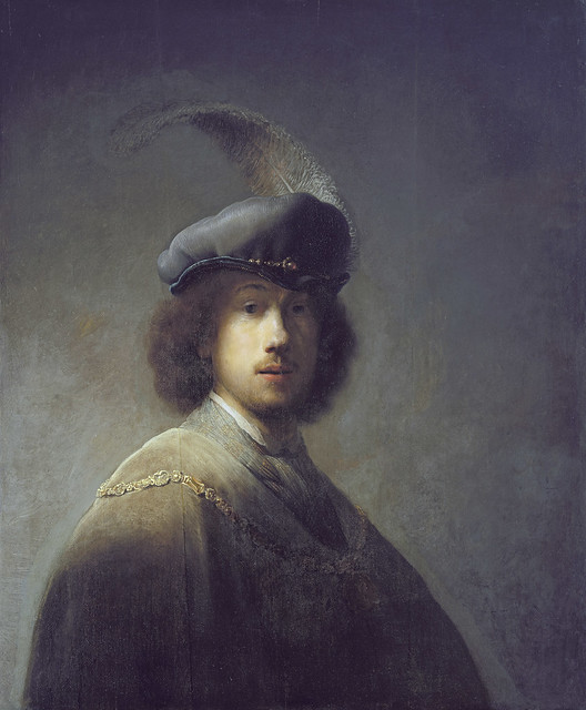 Rembrandt - Self-portrait cat-10 - [1629]