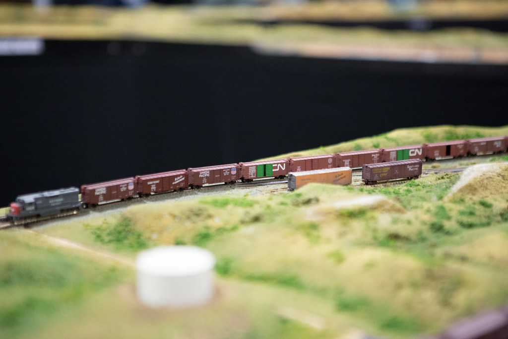 Z-Scale Model Train Layout | Scott Schiller | Flickr