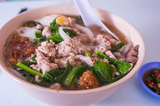 Minced pork noodle soup.jpg | by crystalcastaway