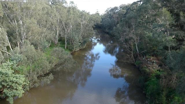 Yarra River from the Chandler Highway Bridge