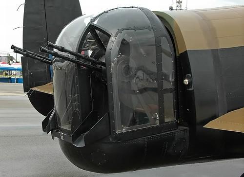 Torreta artillero de cola en Lancaster