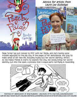 #BookADay: PAGE BY PAIGE (Abrams/Amulet) | by Inkygirl