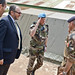 UN Department of Peacekeeping Operations meets the French military Operation Sangaris in Bambari in Central African Republic