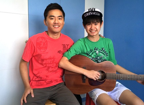 Private guitar lessons Singapore Benny