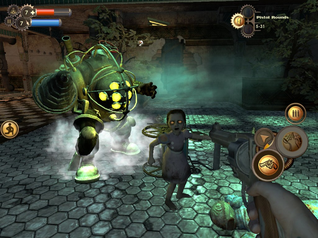 Bioshock Ios Little Sister And Big Daddy Gieson Cacho Flickr