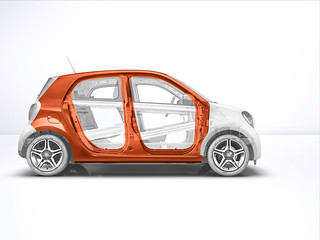 smart forfour, W453, Technik