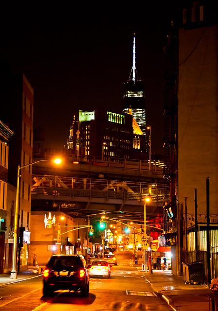 NYC Cityscape night