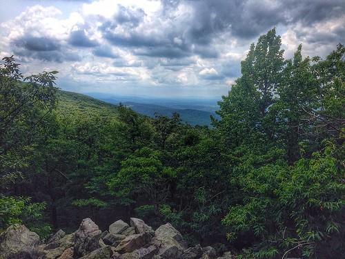 rocks view hiking buzzard appalachiantrail