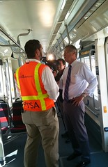 Tom Sherwood interviewing DDOT's Ralph Burns