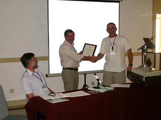 5th ISH Conference, Beijing, Service Award Presentation to John La Salle