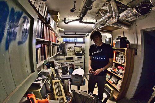 MacSimski, setting up the GoPro | by dvanzuijlekom