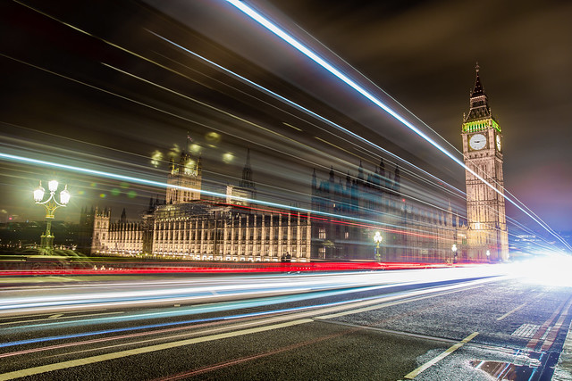 Long Exposure in London, March 2017