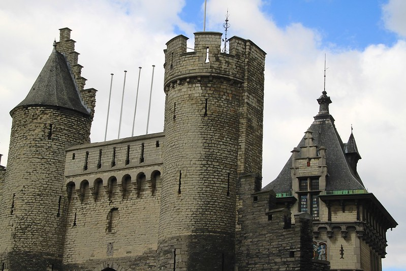 De Steen Castle in Antwerp