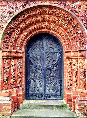 Watts Chapel Door | by William Parsons Pilgrim