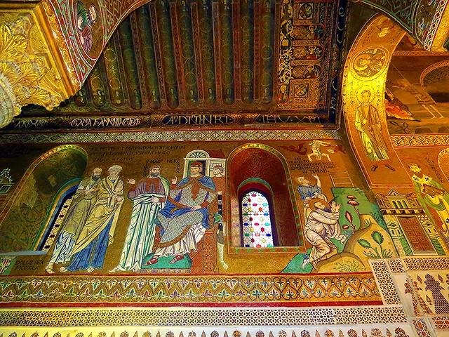 IMG_4353 - la cappella palatina nel palazzo dei normanni a palermo