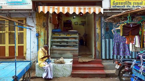 India - Tamil Nadu - Madurai - Streetlife - Indian Milk Sweets Shop - 23 | by asienman