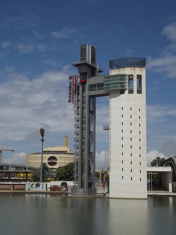 Canal de Alfonso XIII - Seville - Schindler Tower