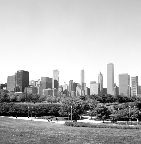 """Image titled """"From Northerly Island, Chicago."""""""