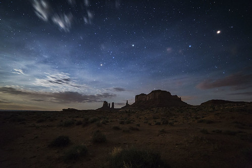 arizona monument night stars nightscape nightshot cloudy valley nightsky nightview starrynight bunlee bunleephotography