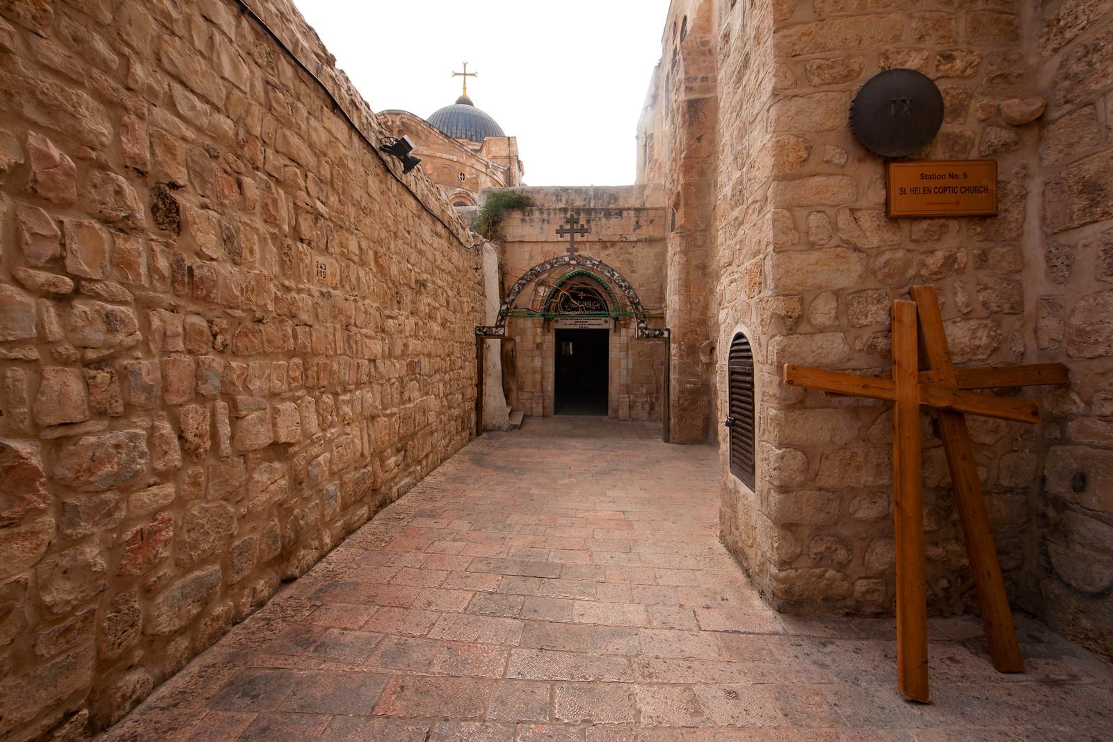 Jerusalem_Via Dolorosa_Station 9 (1)_Noam Chen_IMOT