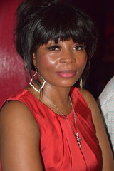 DSC_0134 Rita from Angola Out on the Town Beautiful Portrait at Charlie Wright's Music Lounge Shoreditch London